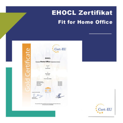EHOCL Zertifikat European Home Office Competence Licence