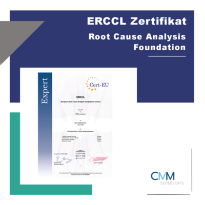 Root Cause Analysis Training (Stufe 1) >Foundation