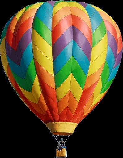 Ballon hochkant